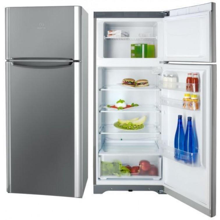 Хладилник с горна камера Indesit TIAA 10 X