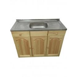 Кухненски шкаф с мивка - 110 х 50 със средно корито