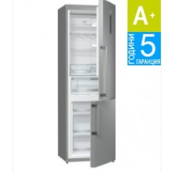 Хладилник с фризер Gorenje NRK6191TX