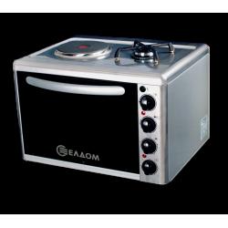 Малка готварска печка Елдом МГП 213 VF