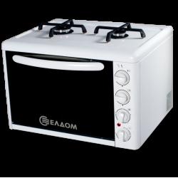 Малка готварска печка Елдом МГП 214 VFE