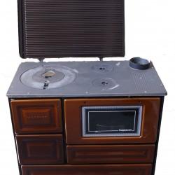 Готварска печка на твърдо гориво Хошевен 4010