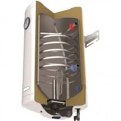 Бойлер Tedan Comby Inox PKL 80 с ляво разположена серпентина