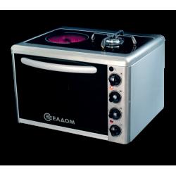 Малка готварска печка Елдом МГП 211 VF