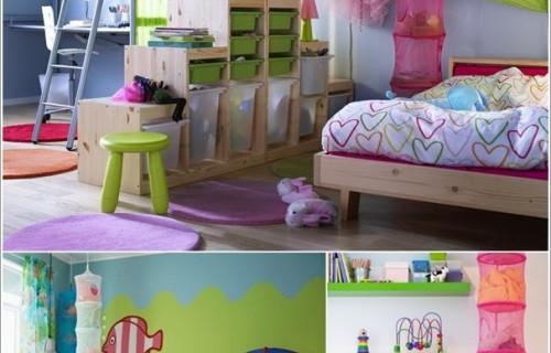 Дървени играчки за детска стая