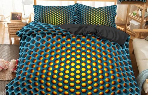 Спално бельо 3D - необичайна новост за интериорна трансформация!